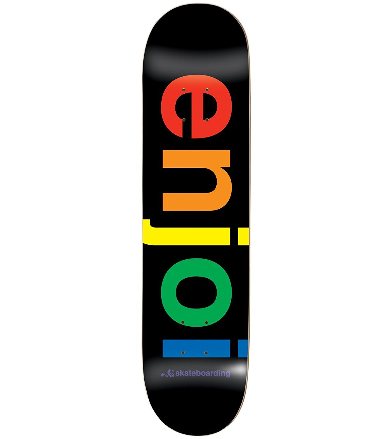 Enjoi Spectrum Black Deck 8.022 Resin 7 Skateboard Decks