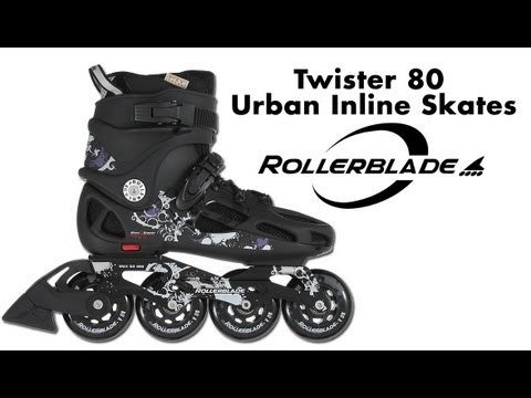 Rollerblade Men's Twister 80 Urban Skate- Best for 2020