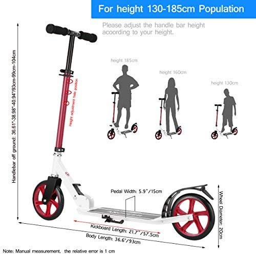 scooter Height and Weight Capacity
