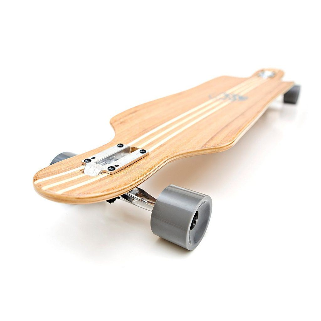 The white wave bamboo longboards