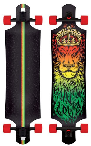 Santa Cruz Lion God Rasta Drop Thru Cruzer