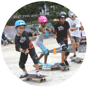 Skateboard is a full activity for children