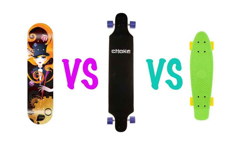 e07dc4db0b Longboard vs Skateboard vs Penny board   WHAT ARE THE DIFFERENCES