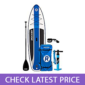 iRocker Inflatable Cruiser Stand-up Paddle Board