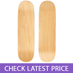 Moose Blank Skateboard Deck