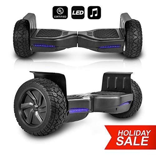 "The 8 or 8.5""-inch wheel hoverboard"