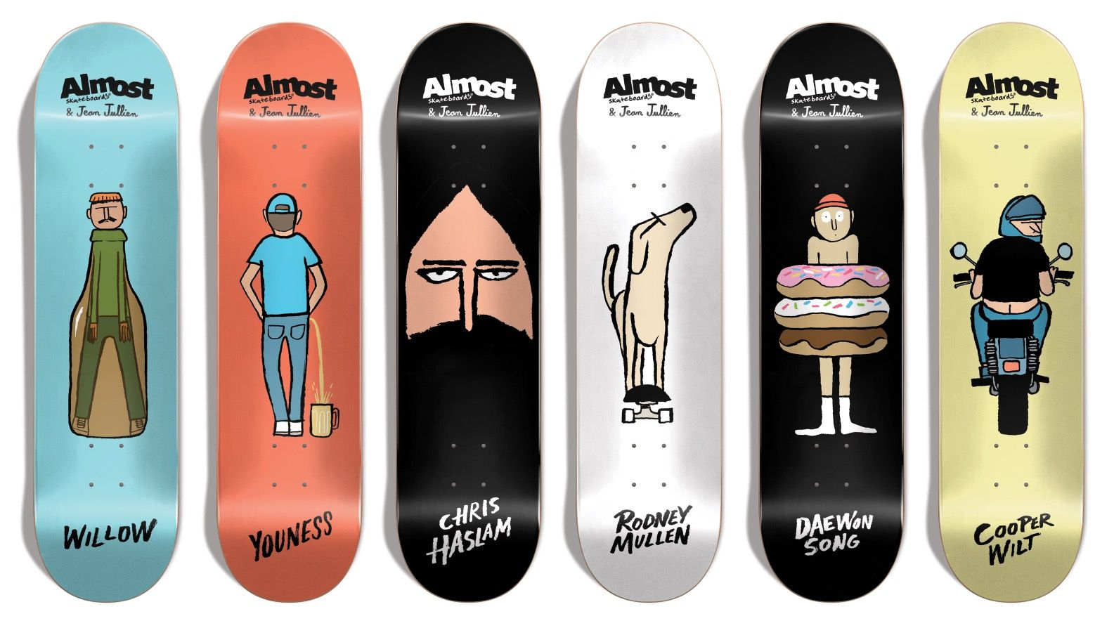 Almost Skateboards Brand