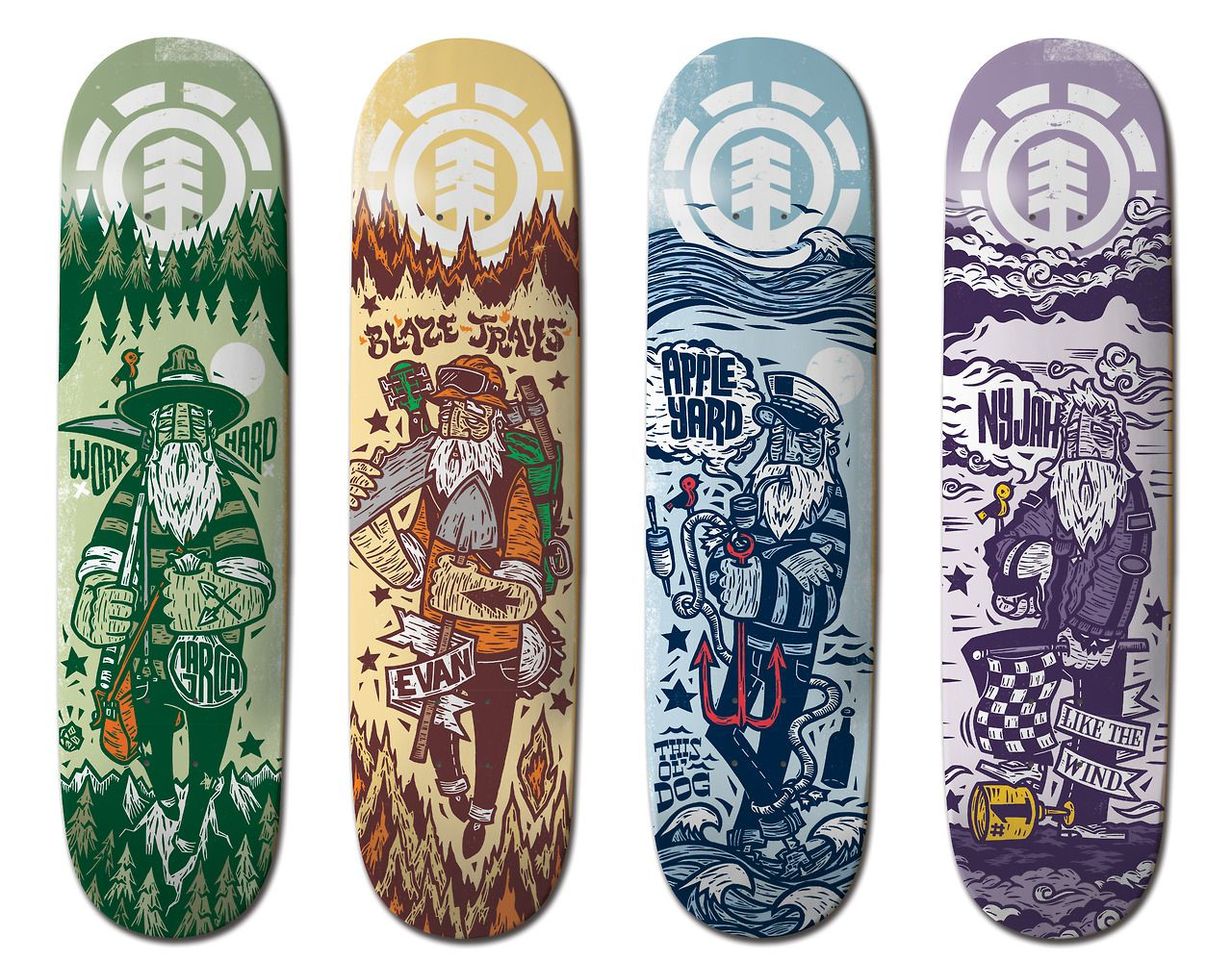 Element Skateboards Brand