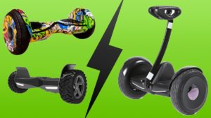 Segway vs hoverboard